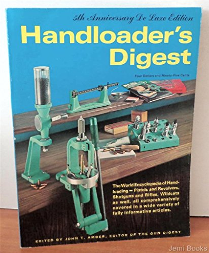 9780695801304: Handloaders Digest, 5th Anniversary Edition
