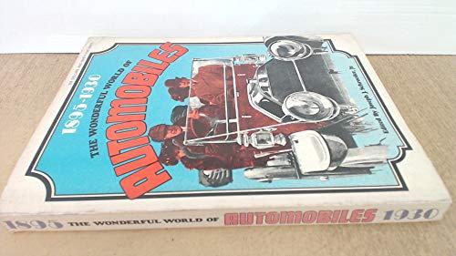 9780695802233: The Wonderful World of Automobiles, 1895-1930