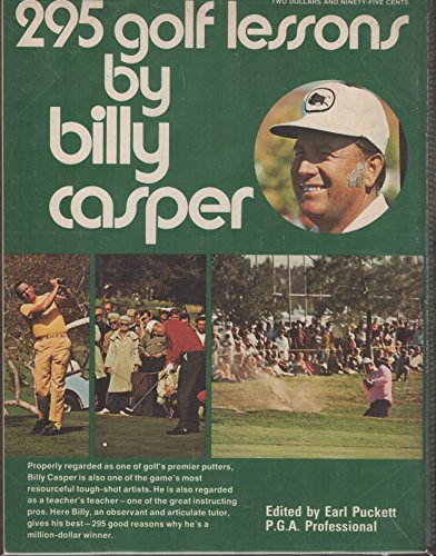9780695804039: 295 golf lessons by Billy Casper