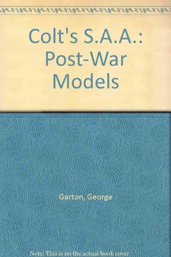 9780695812775: Colt's S.A.A.: Post-War Models