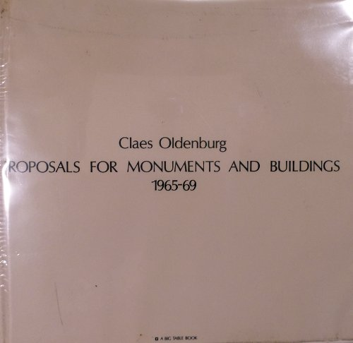 Proposals for monuments and buildings, 1965-69