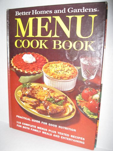 Better Homes and Gardens Menu Cook Book: Don - Editor