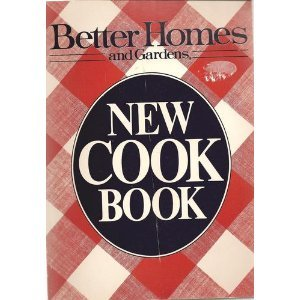 9780696008252: Better Homes and Gardens New Cook Book