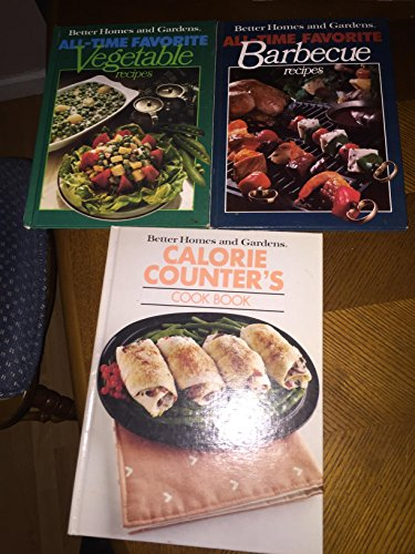 9780696008351: Better Homes and Gardens Calorie Counter's Cook Book (Better homes and gardens books)