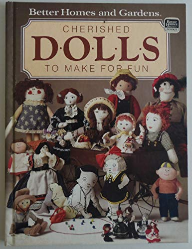 Cherished Dolls To Make For Fun