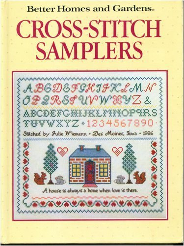 9780696015106: Cross Stitch Samplers (Better Homes and Gardens)
