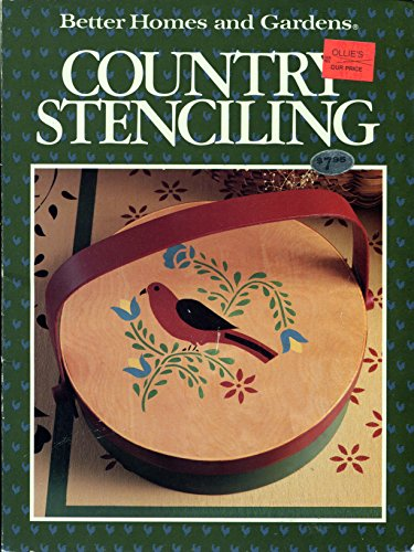 9780696017070: Better Homes and Gardens Country Stenciling
