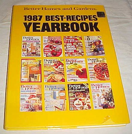 9780696021299: Better Homes and Gardens 1987 Best-Recipes Yearbook