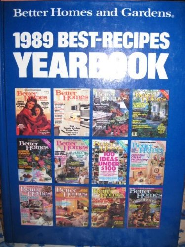 1989 Best-Recipes Yearbook: Better Homes and Garden