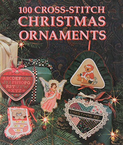 9780696023927: 100 Cross-Stitch Christmas Ornaments