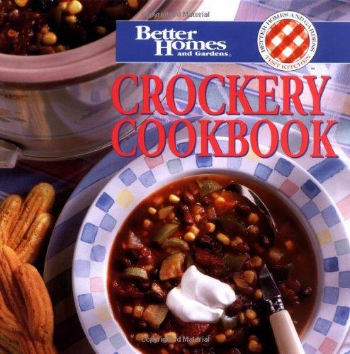 9780696203657: Crockery Cookbook (Better Homes & Gardens)