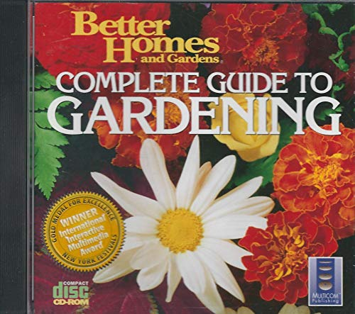9780696203855: Better Homes and Gardens Complete Guide to Gardening Cd-Rom