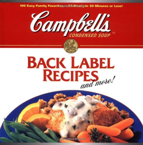 9780696205057: Back Label Recipes and More!