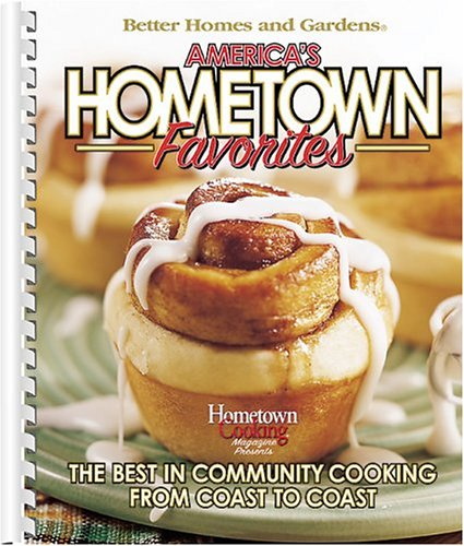 America's Hometown Favorites: Better Homes and Gardens Books