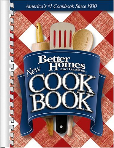 9780696217166: New Cook Book (Better Homes & Gardens New Cookbooks)