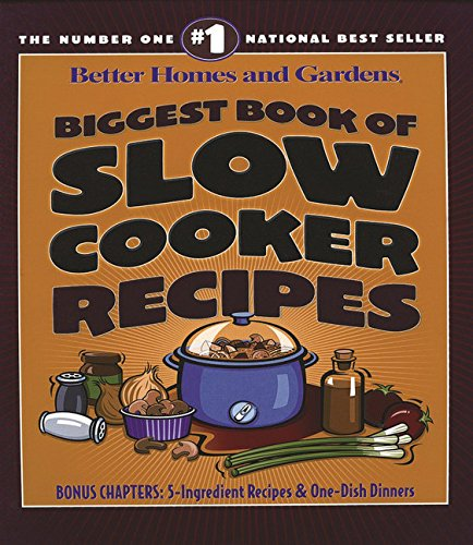9780696218354: Biggest Book of Slow Cooker Recipes (Better Homes and Gardens Cooking)