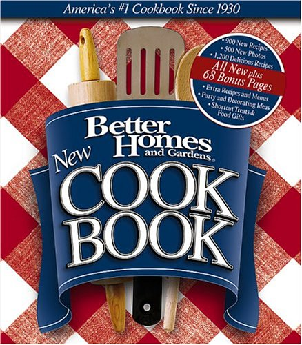 9780696218811: Better Homes and Gardens New Cook Book