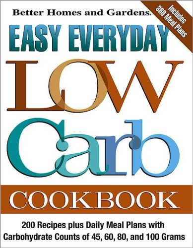 9780696218941: Easy Everyday Low Carb Cookbook