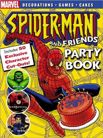 9780696219962: Spider-Man Party Book (Spider-Man Graphic Novels (Marvel Paperback))