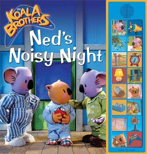 Ned's Noisy Night: Deluxe Sound Storybook: Amy Bauman