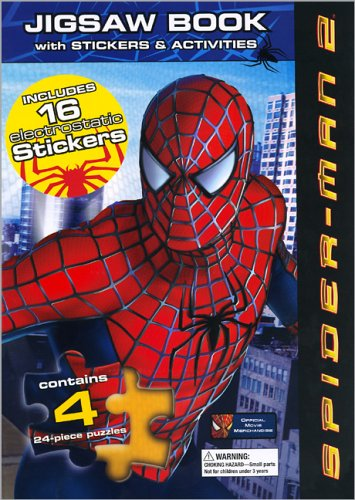 Spider-Man 2 Jigsaw Book: With Activities &: Meredith Books