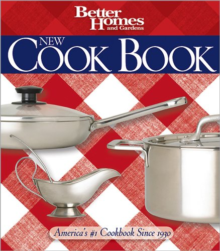 9780696224034: Better Homes and Gardens New Cook Book (Better Homes & Gardens Plaid)