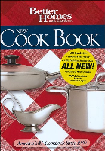 9780696225659: Better Homes and Gardens New Cook Book (Better Homes & Gardens Plaid)