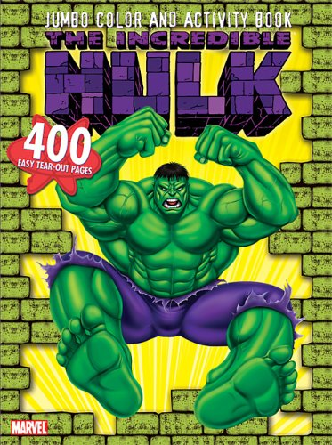 The Incredible Hulk Jumbo Color & Activity Book: Marvel