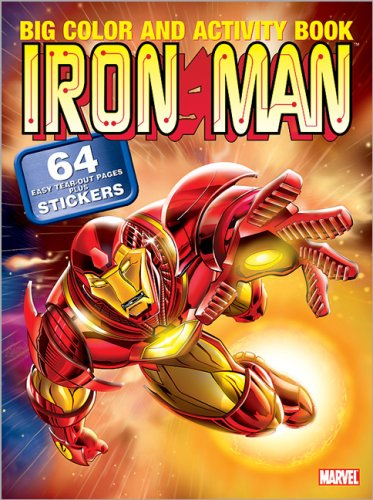 9780696226816: Iron Man Big Color and Activity Book with Sticker