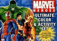 9780696226960: Marvel Heroes Ultimate Color & Activity Set