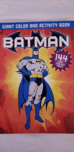 Batman Giant Color and Activity Book: Bob Kane