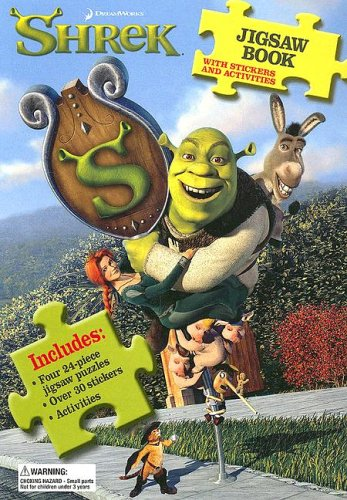 9780696228162: Shrek Jigsaw Book: With Stickers and Activities