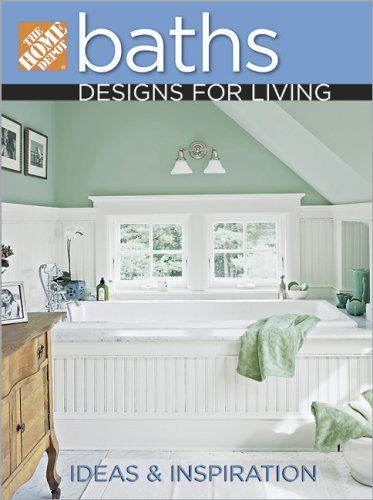 9780696228803: The Home Depot Baths Designs for Living
