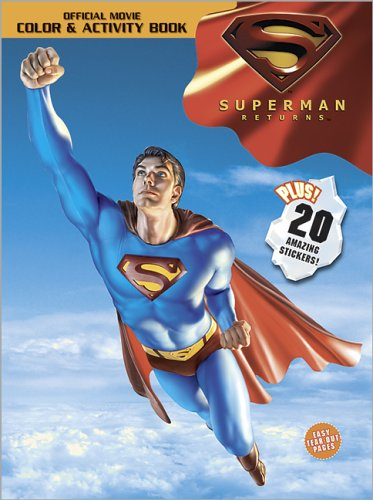 9780696229107: Superman Returns Color & Activity Book: With Stickers