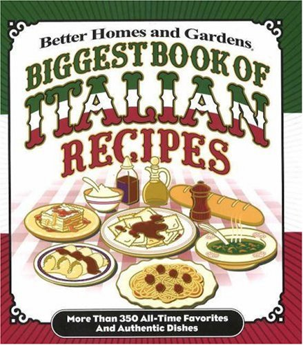 9780696230516: Biggest Book of Italian Recipes