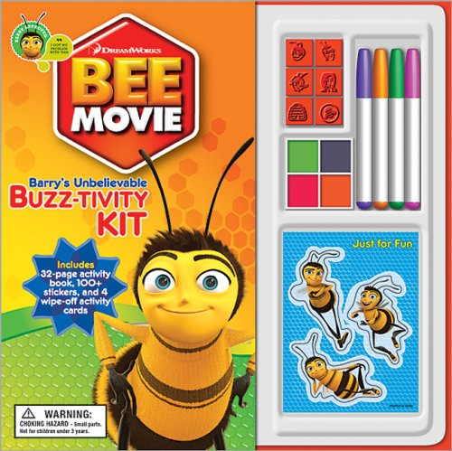 Bee Movie Book with Activity Kit