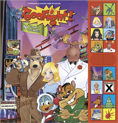 9780696234248: Foodfight!: Deluxe Sound Storybook