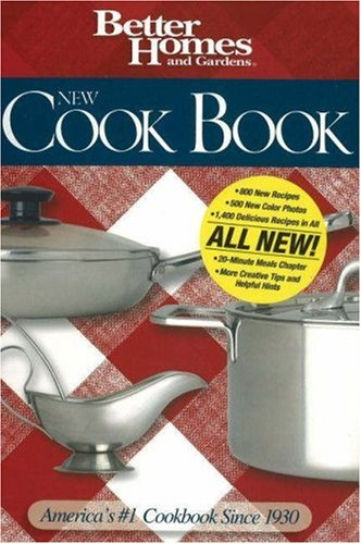 9780696234491: New Cook Book (Better Homes & Gardens New Cookbooks)
