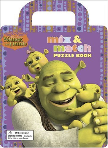 9780696234767: Shrek The Third Mix and Match Jigsaw Puzzle Book