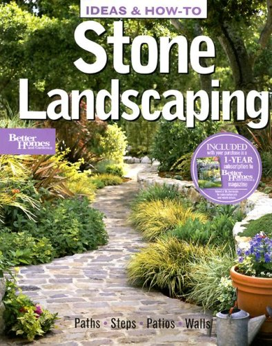 Ideas & How-To: Stone Landscaping (Better Homes and Gardens) (Better Homes and Gardens Home): ...