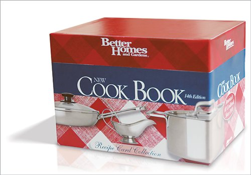 9780696237041: New Cook Book, 14th Edition Recipe Card Collection (Better Homes & Gardens Plaid)