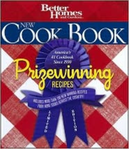 9780696241598: Better Homes and Gardens New Cook Book, Prizewinning Recipes Limited Edition