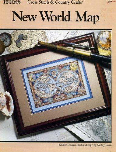 9780696707094: New World Map (Cross Stitch & Country Crafts, #98; 038125)