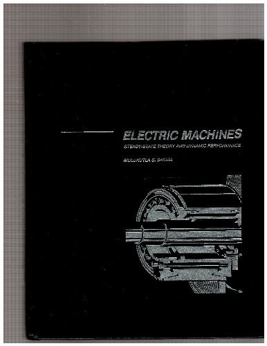 9780697000613: Title: Electric machines Steadystate theory and dynamic p