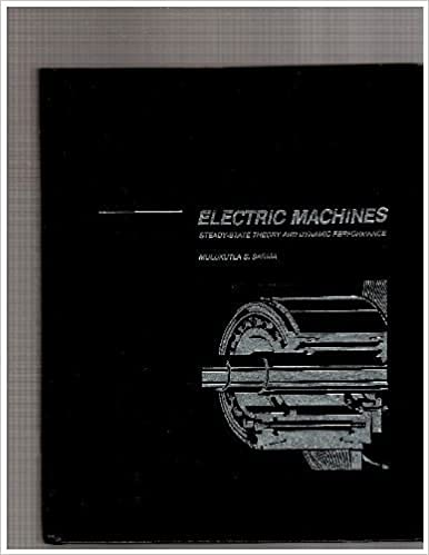 9780697001948: Solutions manual, electric machines: Steady-state theory and dynamic performance