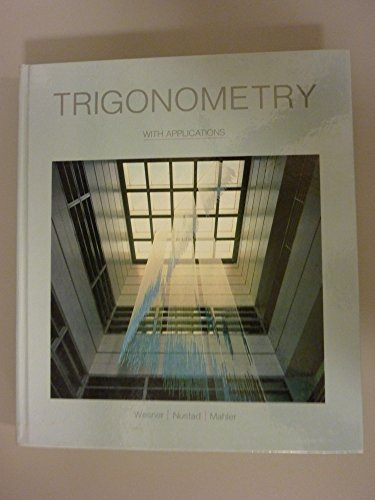 9780697002365: Trigonometry With Applications
