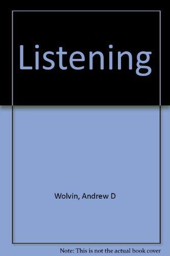 9780697002860: Listening