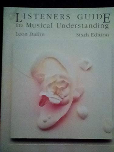 9780697002990: Listener's Guide to Musical Understanding
