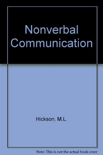 9780697003133: Nonverbal Communication