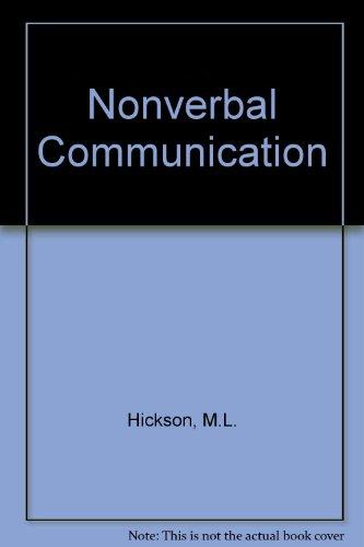 9780697003133: Nonverbal Communication
